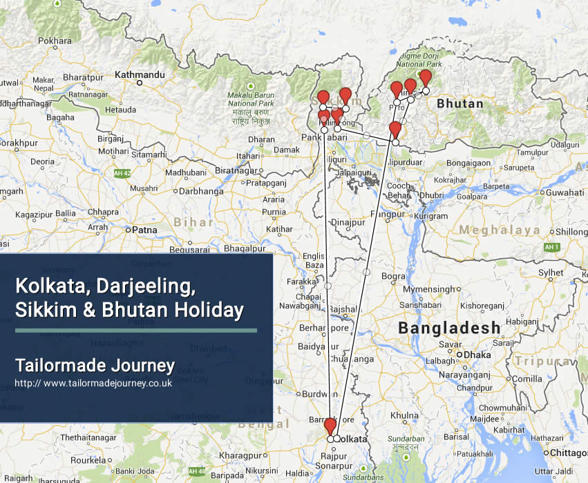 kolkata-darjeeling-sikkim-bhutan-holiday