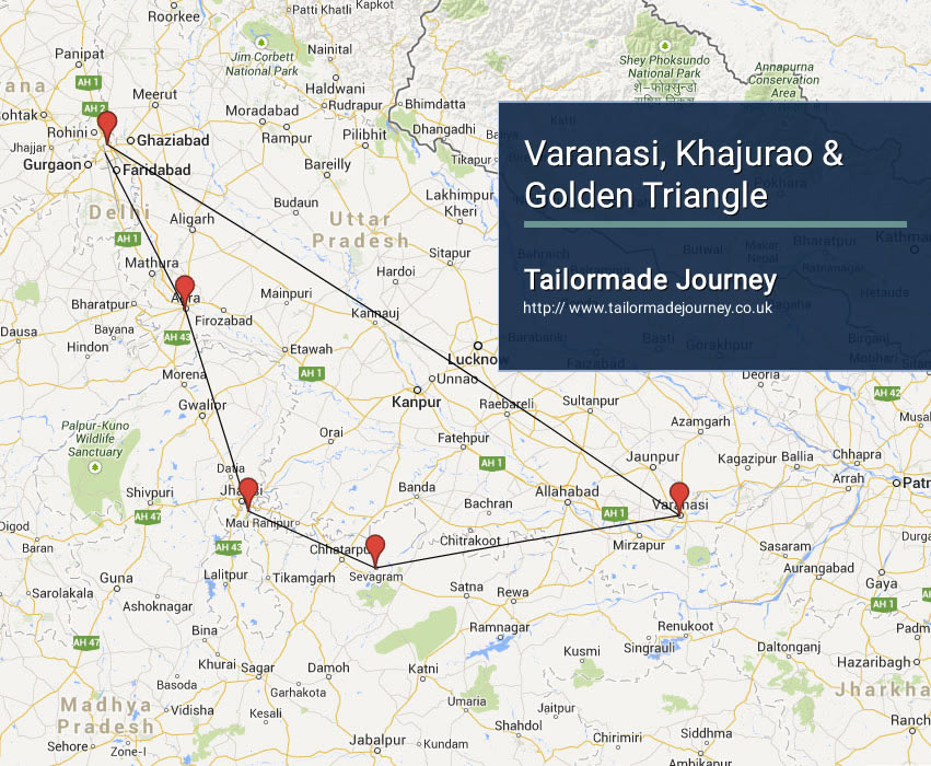 varanasi-khajuraho-golden-triangle