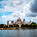 Victoria Memorial at Calcutta (Kolkatta), India