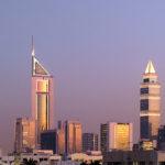 610-01598862Model Release: NoProperty Release: NoUnited Arab Emirates, Dubai, Emirates Towers and Dubai Tower
