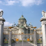 Dusit Palace in Bangkok, Thailand. Ananda Samakhom Throne Hall.