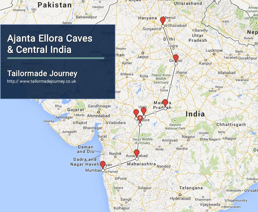 Ajanta Ellora Caves & Central India – TJ – IN – CI 01