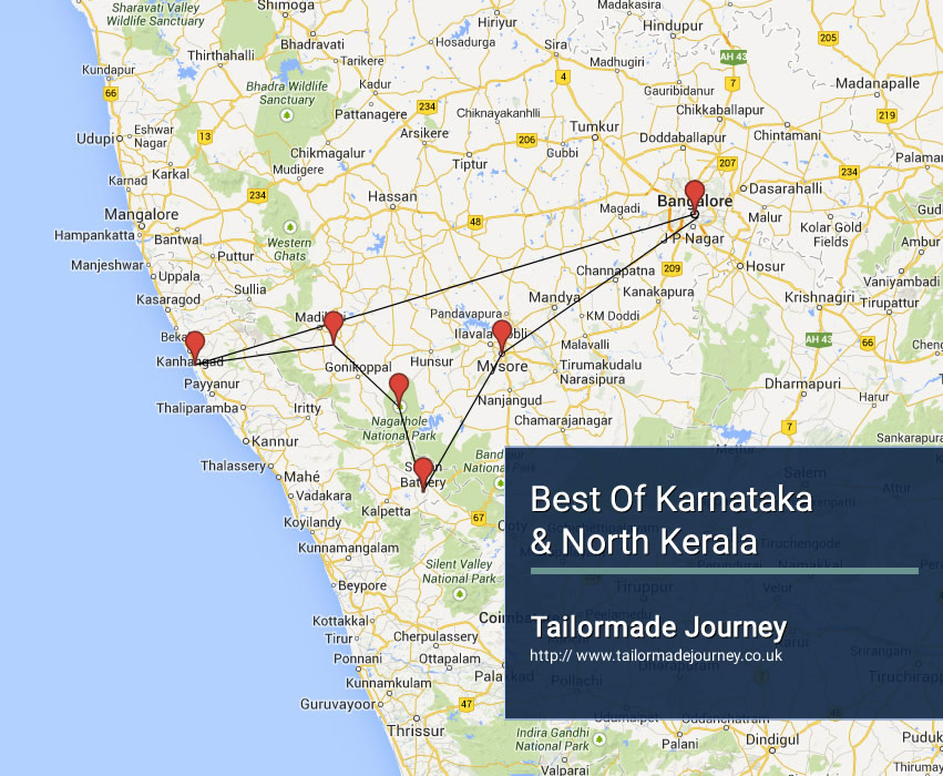 Best of Karnataka & North Kerala – TJ – IN – SI 15