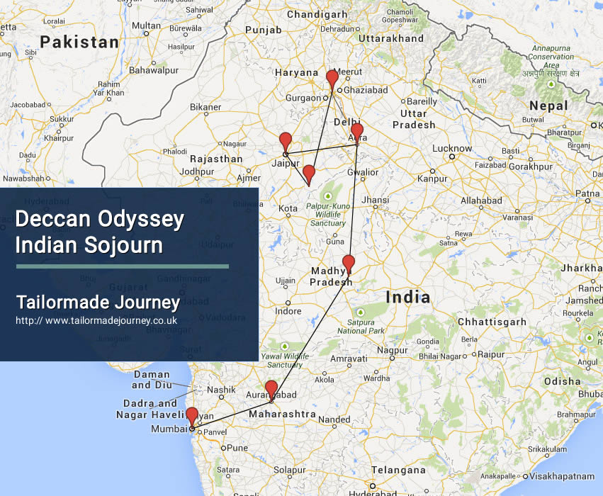 Deccan Odyssey – Indian Sojourn – TJ – IN TR 16