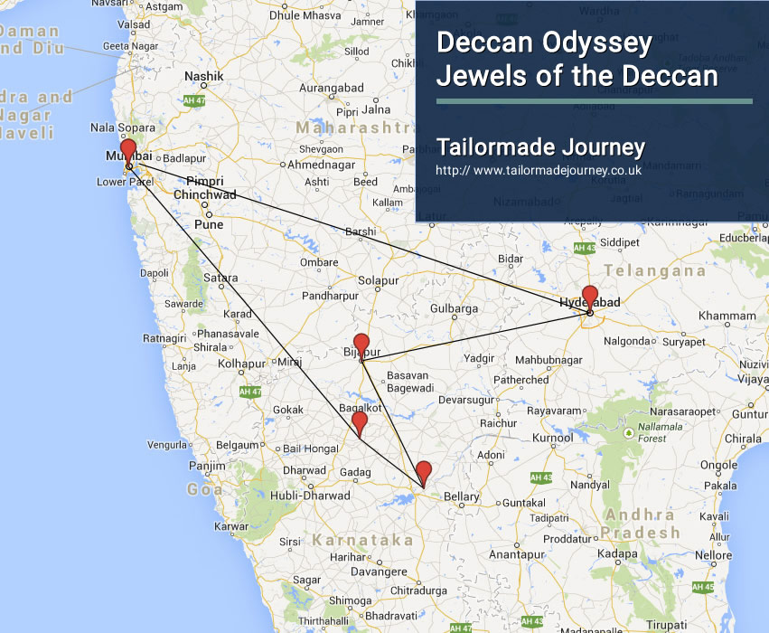 Deccan Odyssey – Jewels of the Deccan – TJ – IN TR 17