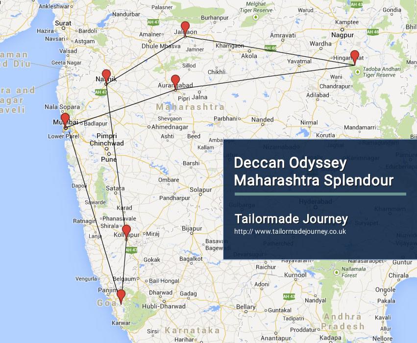 Deccan Odyssey – Maharashtra Splendor – TJ – IN TR 14