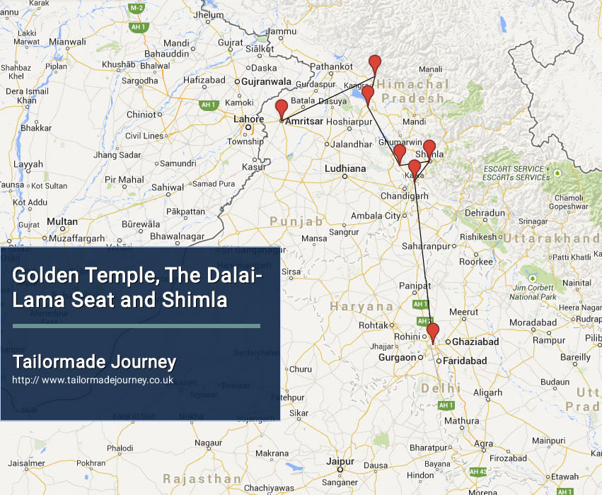 Golden Temple, The Dalai Lama Seat and Shimla – TJ – IN – NI 18