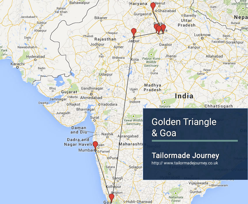 Golden Triangle & Goa – TJ – IN – NI 07