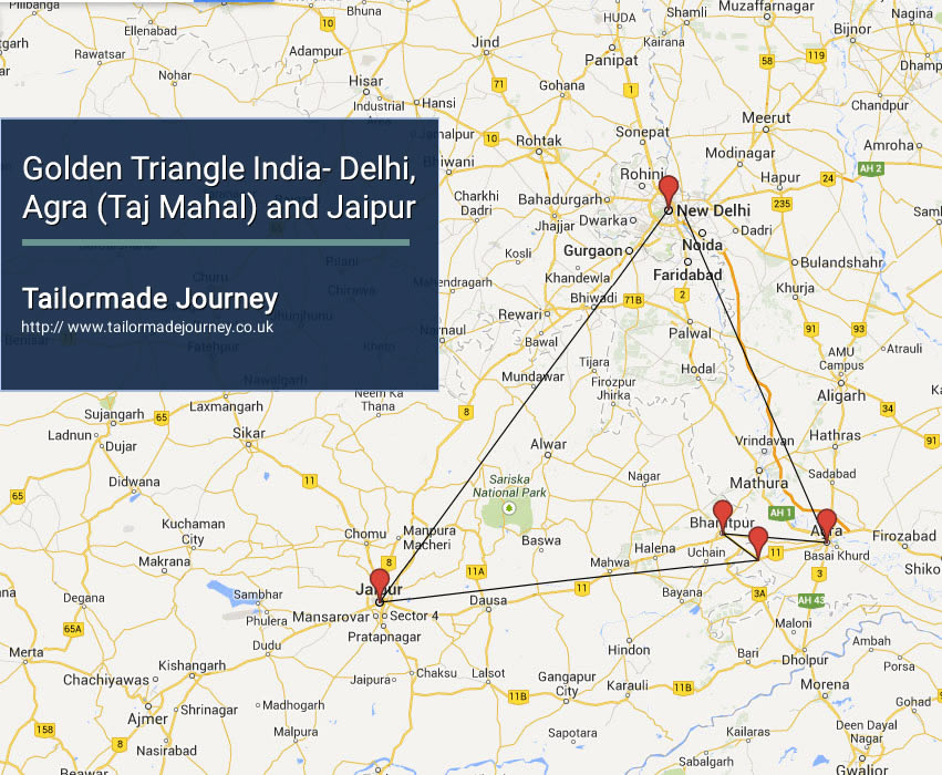 Golden Triangle India – Delhi, Agra (Taj Mahal) and Jaipur – TJ – IN – NI 01