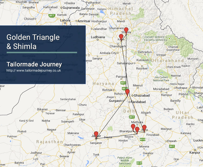 Golden Triangle & Shimla – TJ – IN – NI 12