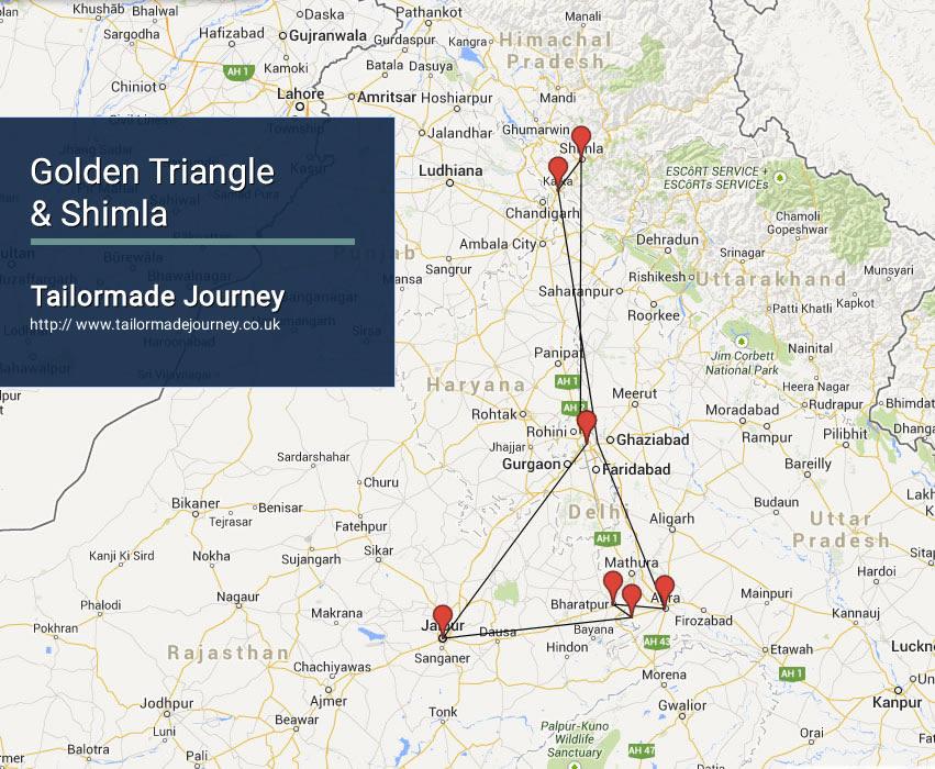 Golden Triangle & Shimla – TJ – IN – NI 12