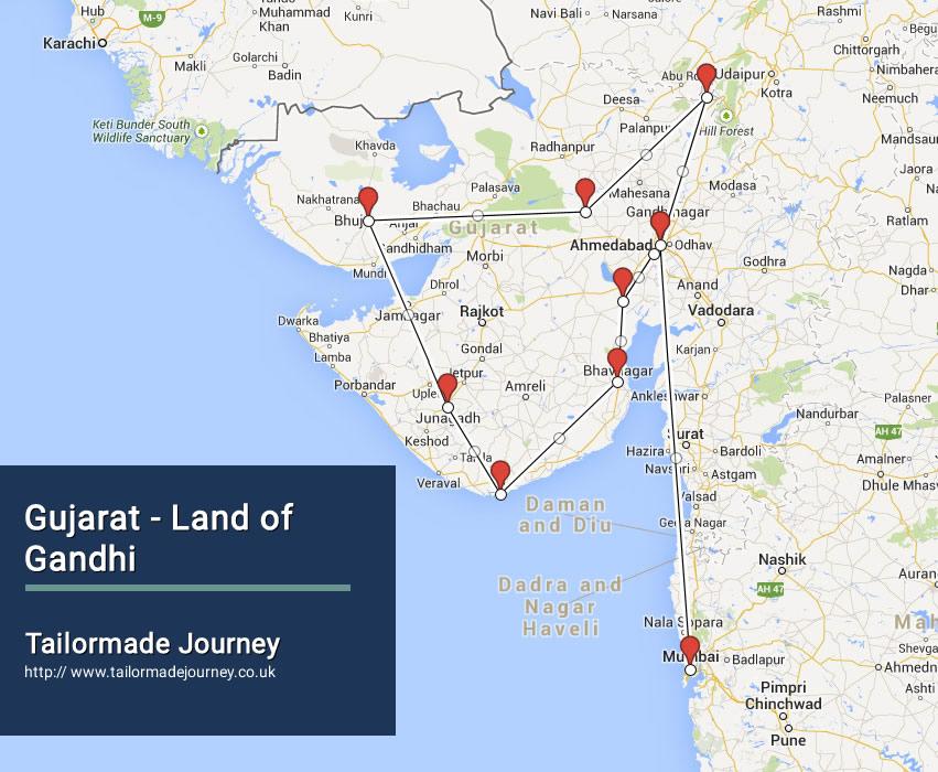 Gujarat – Land of Gandhi – TJ – IN WI 01