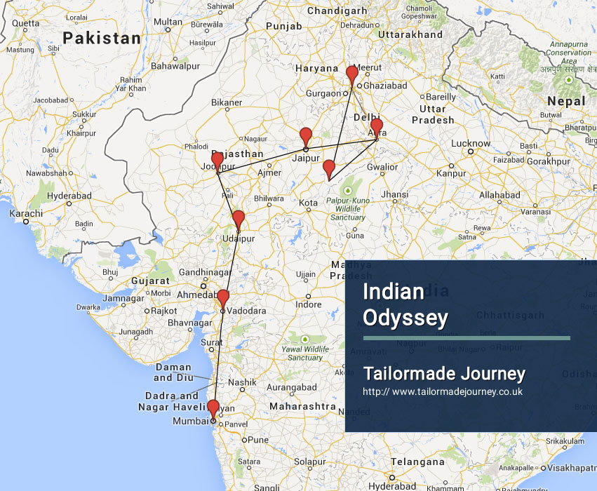 Indian Odyssey – TJ – IN – TR 13