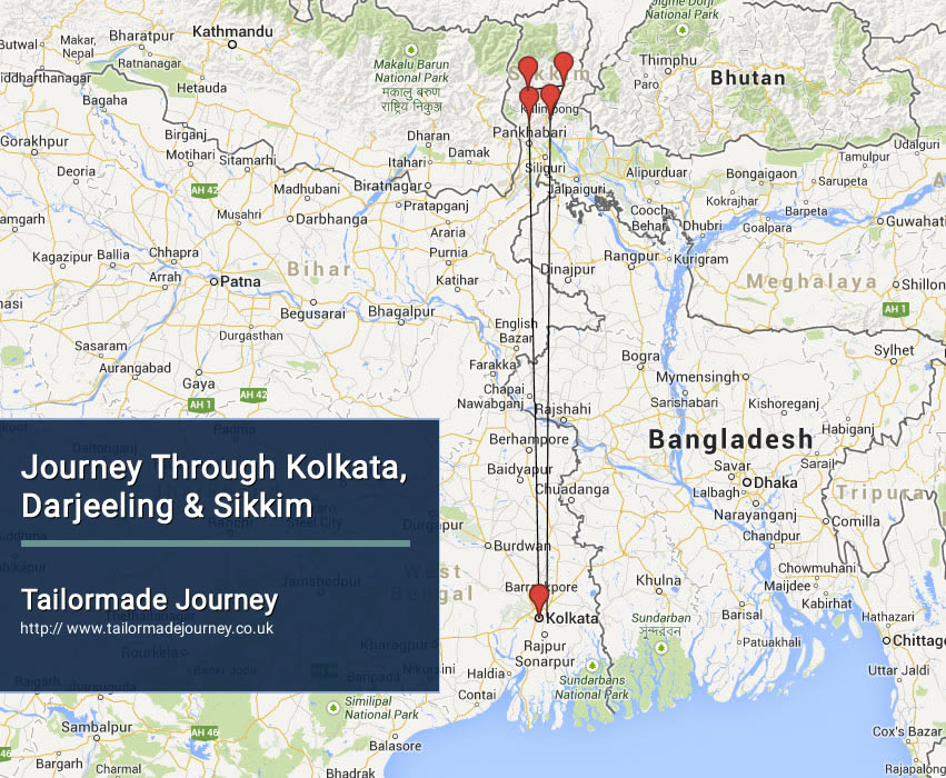 Journey Through Kolkata, Darjeeling & Sikkim – TJ – IN – EI 01