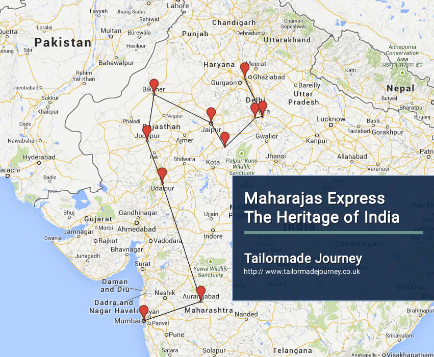 Maharajas Express The Heritage of India – TJ – IN TR 11