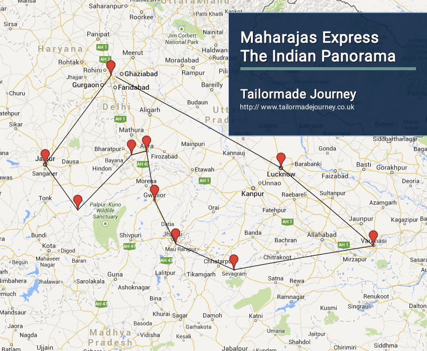 Maharajas Express The Indian Panorama – TJ – IN TR 12