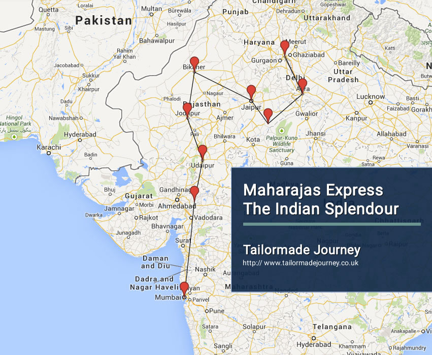 Maharajas Express The Indian Splendour – TJ – IN TR 10