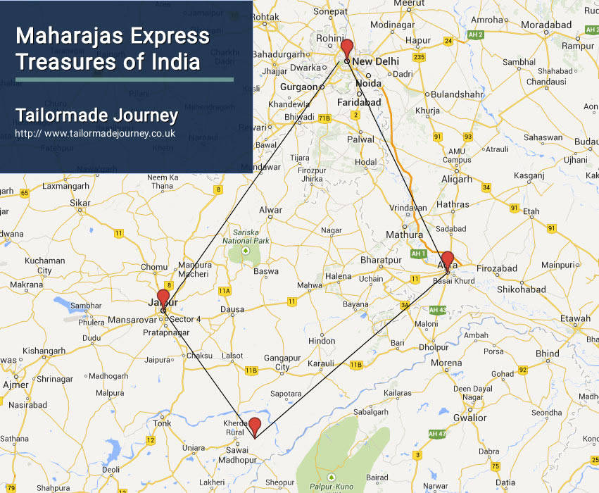 Maharajas Express Treasures of India – TJ – IN TR 09