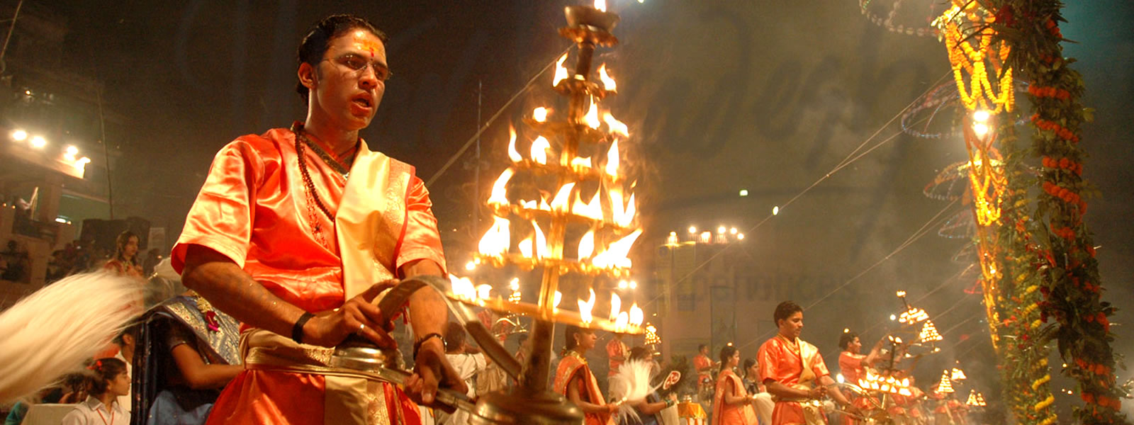 Aarti On Ganges - Varanasi