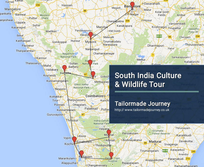 South India Culture & Wildlife Tour – TJ – IN SI 16