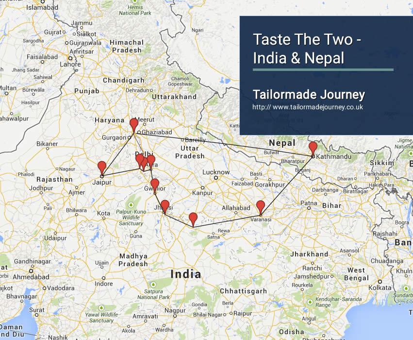 Taste The Two – India & Nepal – TJ – IN – NI 30