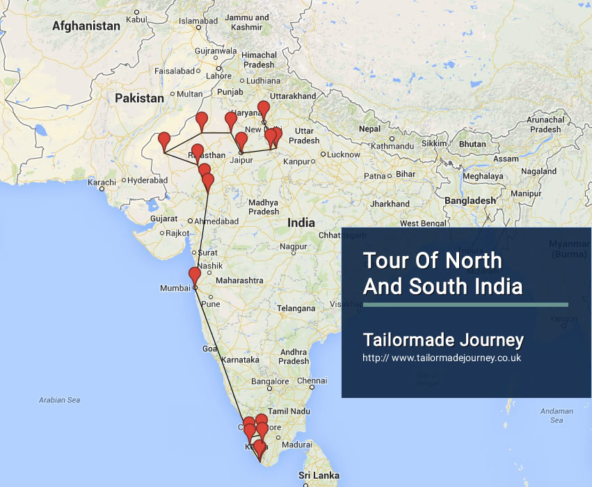 Tour of North and South India – TJ – In – NI 37