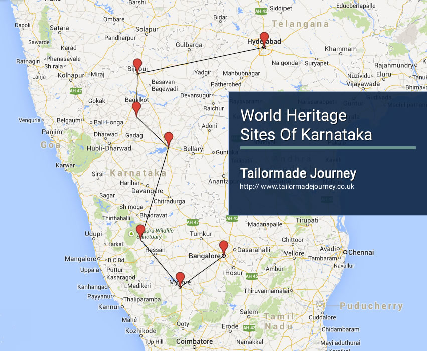 World Heritage Sites of Karnataka – TJ – IN – SI 08