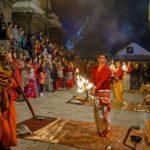 Nepal - Pashupatinath Bagmati Aarati
